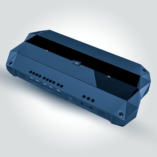 JBL Club 4505 5-channel car amplifier — 45 watts RMS x 4 at 4 ohms + 500 watts RMS x 1 at 2 ohms