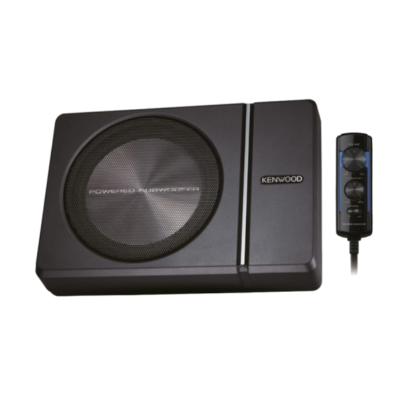Kenwood KSC-PSW8 8″ Compact Subwoofer with Built...
