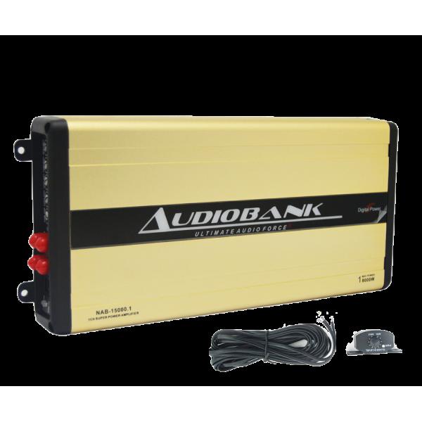 Audiobank NAB-7800.4 Nano Pro Digital 4 Channel Amplifier