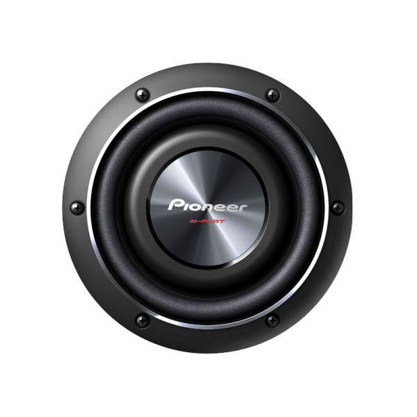 """Pioneer 8"""" Shallow-Mount Subwoofer with 600 W..."""