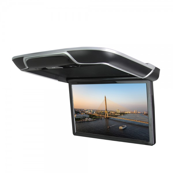 Flip down Monitor 21.5 Inch Android 6.0 Ambient Lighting Screen Mirroring