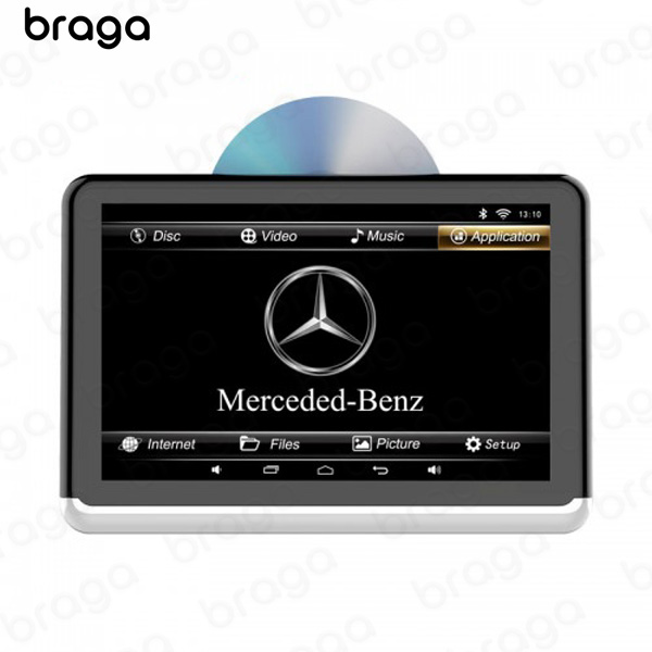 Headrest screen 10.1 Inch Android DVD player screen With built in Battery
