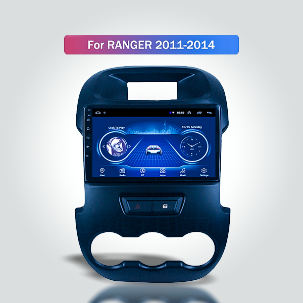 Ford Ranger T6 2011 - 2014 10.1 Inch Android Satna...