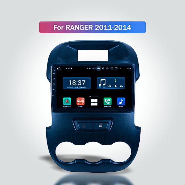 Ford Ranger T6 2011 - 2015 10 Inch Android Satnav ...