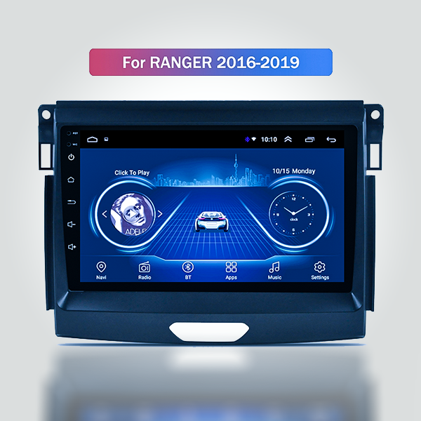 Ford Ranger T7 2016 - 2019 9 Inch Android Satnav R...