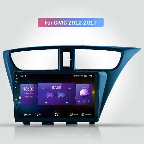 Honda Civic 2012 - 2017 9 Inch Android Bluetooth N...