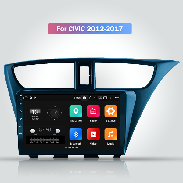 Honda Civic 2012 - 2017 9 Inch Android Touch Scree...