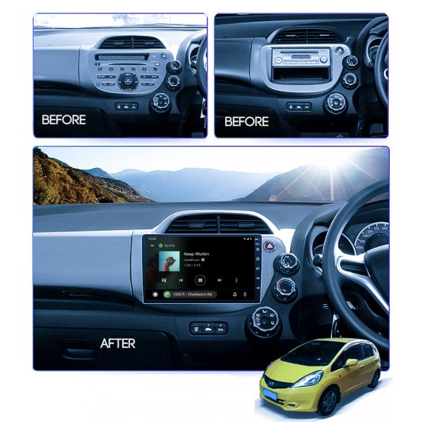 Honda Jazz 2008 - 2013 10.1 Inch Android Satnav Radio Car Audio Sound System