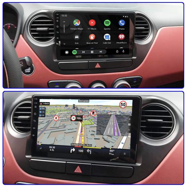 Hyundai I10 2013 - 2016 9 Inch Android Satnav Radio Car Audio Sound System