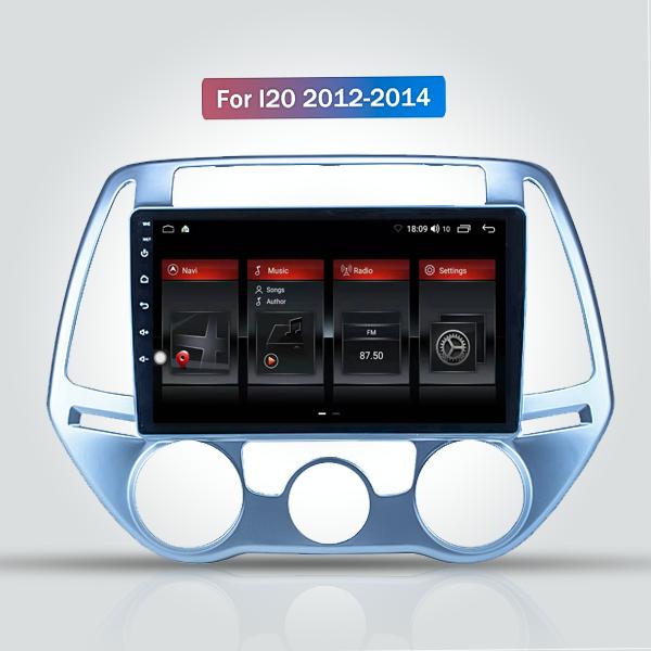 Hyundai I20 2012 - 2014 9 Inch Android Navigation ...
