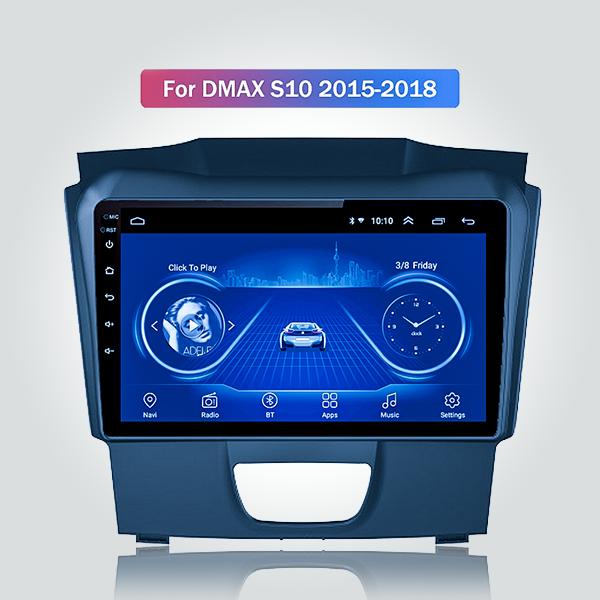Isuzu KB D-MAX 2012 - 2018 9 Inch Android Satnav R...