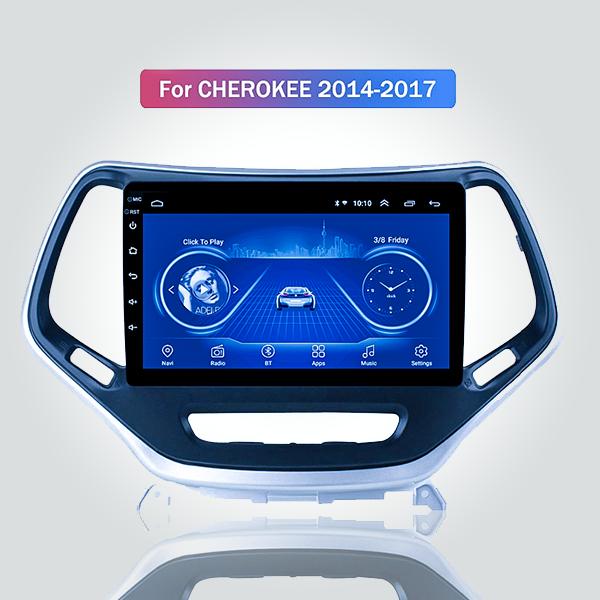 Jeep Grand Cherokee 2014 - 2017 9 Inch Android Satnav Radio Car Audio Sound System