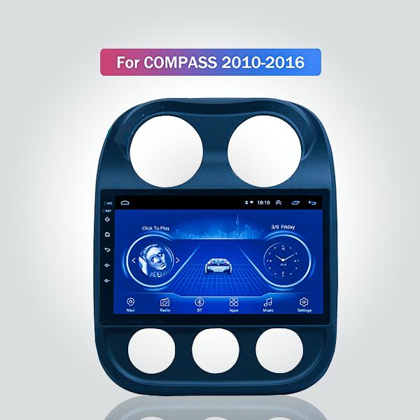 Jeep Compass 2010 - 2016 10.1 Inch Android Satnav ...