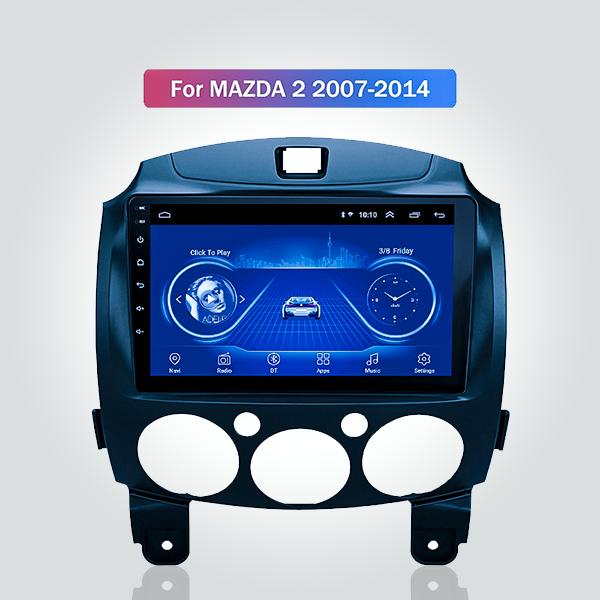 Mazda 2 2007 - 2014 9 Inch Android Satnav Radio Ca...