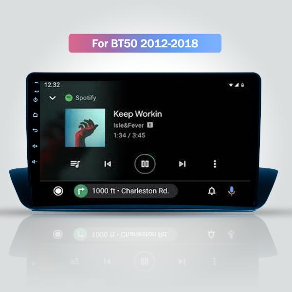 Mazda BT-50 2012 - 2018 9 Inch Android Satnav Radio Touch Screen Navigation Radio