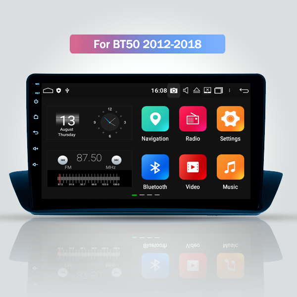Mazda BT-50 2012 - 2018 9 Inch Android Touch Scree...