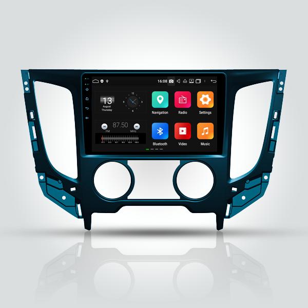 Mitsubishi L200 Triton 2013 - 2015 10 Inch Android Satnav Radio Car Audio Sound System