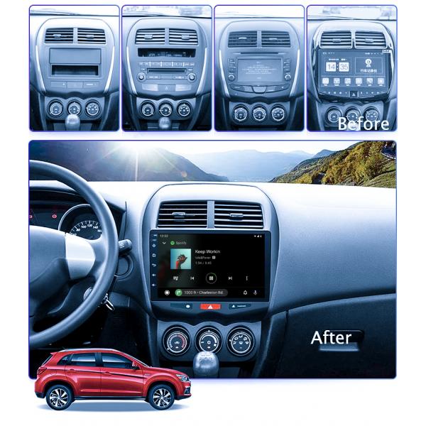 Mitsubishi ASX 2010 - 2015 10.1 Inch Android Satnav Radio Car Audio Sound System