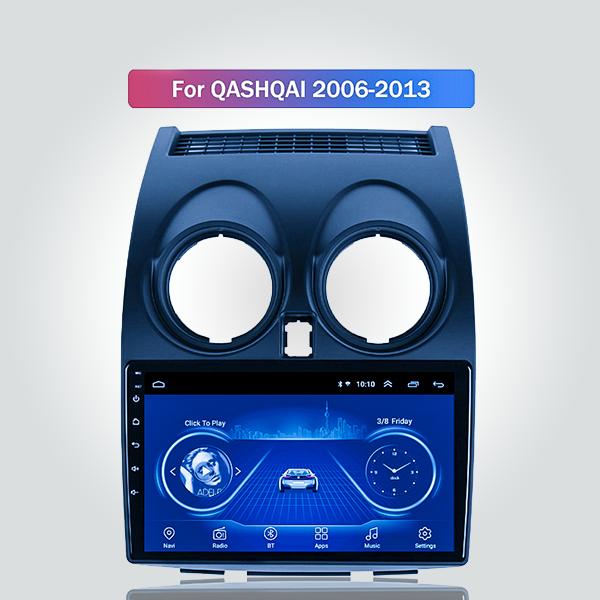 Nissan Qashqai 2006 - 2013 10 Inch Android Satnav ...