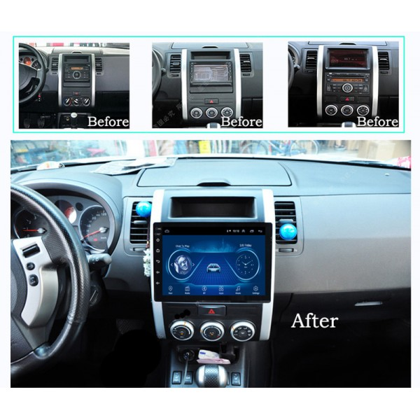 Nissan XTrail 2008 - 2012 9 Inch Android Satnav Radio Car Audio Sound System