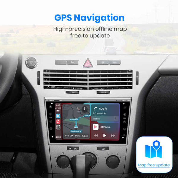 Opel Astra H/ Corsa D 2004 - 2011 8 Inch Android Navigation Touch Screen