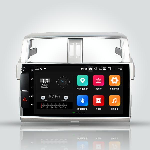 Toyota Prado 150 Series 2009 - 2013 8 Inch Android Satnav Radio Car Audio Sound System