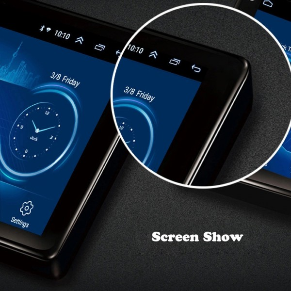 Toyota Avanza 2010 - 2016 9 Inch Android Satnav Radio Car Audio Sound System