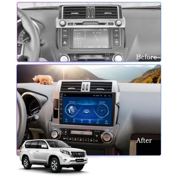 Toyota Prado 150 2014 - 2017 10.1 Inch Android Satnav Radio Car Audio Sound System