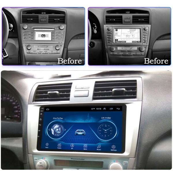 Toyota Camry 2007 - 2013 9 Inch Android Satnav Radio Car Audio Sound System