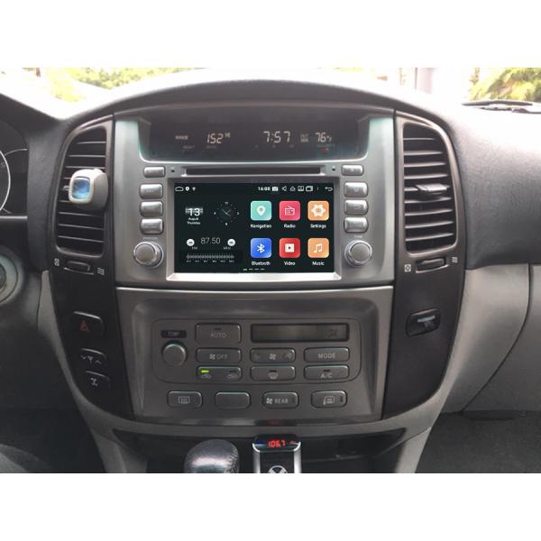 Toyota Land Cruiser 100 vx 2005 - 2007 7 Inch Android Navigation Radio
