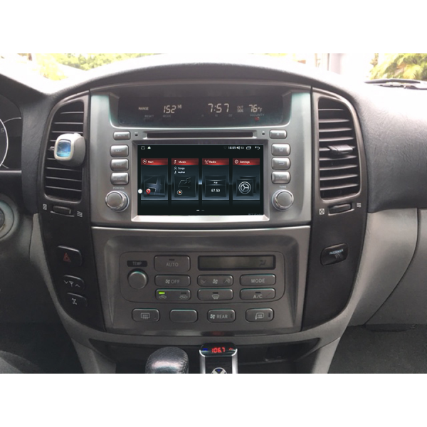 Toyota Land Cruiser 100 1998 - 2007 7 Inch Android Bluetooth Touch Screen
