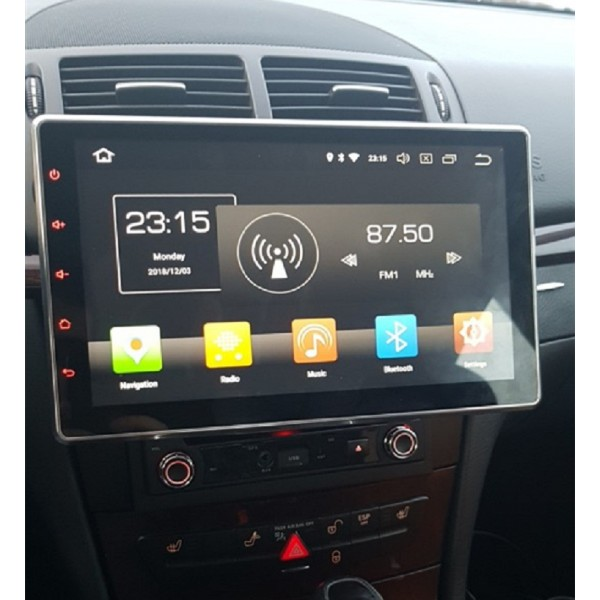 2 Din 10.1 inch Universal Android 10.0 Satnav Radio Car Audio Sound System